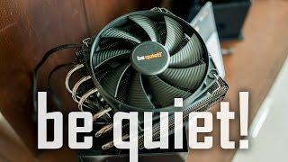 be quiet! Dark Rock Topflow ($79) & Shadowrock LP ($39) CPU coolers Thumbnail