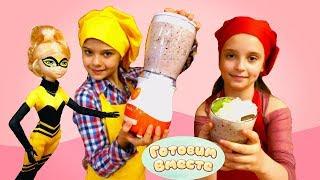 Видео для девочек с куклами. Десерт в шоу