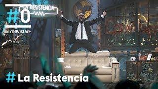 LA RESISTENCIA - Ignatius acuchilla el sofá nuevo de Parejo | #LaResistencia 12.02.2020