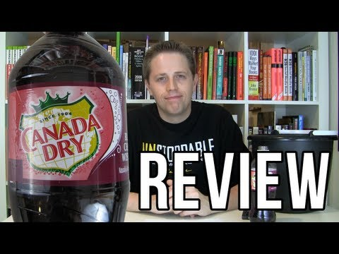 Canada Dry Black Cherry Wishniak Review (Soda Tasting #211)