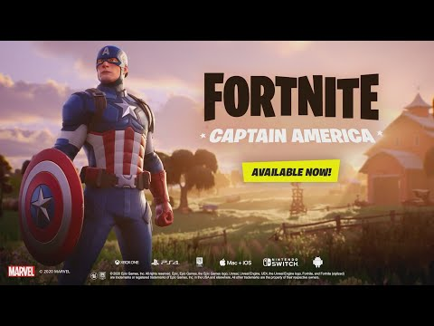 CAPTAIN AMERICA IS NOW IN FORTNITE (Captain America Bundle In The Item Shop)