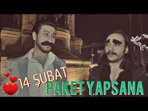 14 ŞUBAT - Mahmut Tuncer Parodi - Paket Yapsana / PARODİ KİNGS