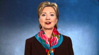 Hillary Clinton addresses the WWE Universe