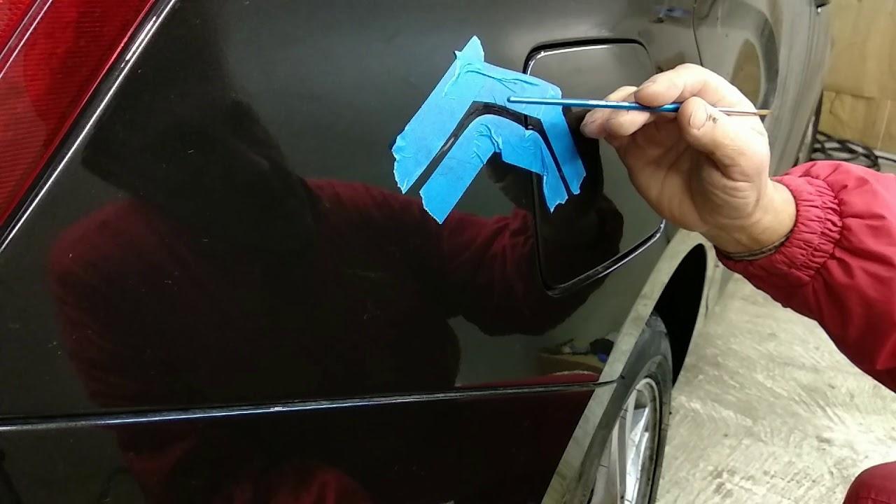 Lada Vesta царапина на кузове устранение