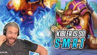 (Hearthstone) Kibler Is So S-M-R-T