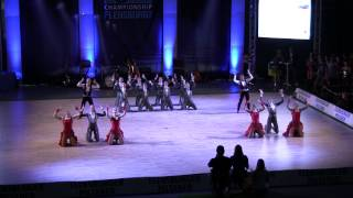 Coolcats (RU) - final - European Championship Formation Ladies - Flensburg 2014