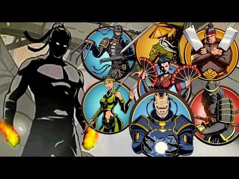 ПОБЕДИЛ ВСЕХ БОССОВ видео для детей игра Shadow Fight 2 бой с тенью мультик для детей от FGTV