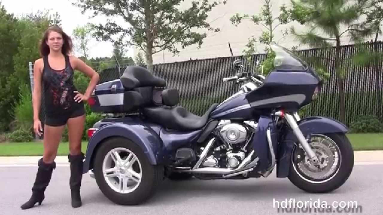 Used 2008 Harley Davidson FLTR Road Glide Trike for sale