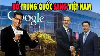 TIN TỨC THẾ GIỚI HÔM NAY    TUYỆT VỜI Google chính thức quyết định bỏ Trung quốc sang Việt Nam