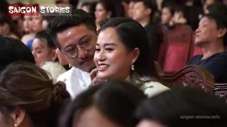 Đây là phản ứng của Hứa Minh Đạt khi Lâm Vỹ Dạ đoạt giải Diễn Viên Hài Mai Vàng 2019!