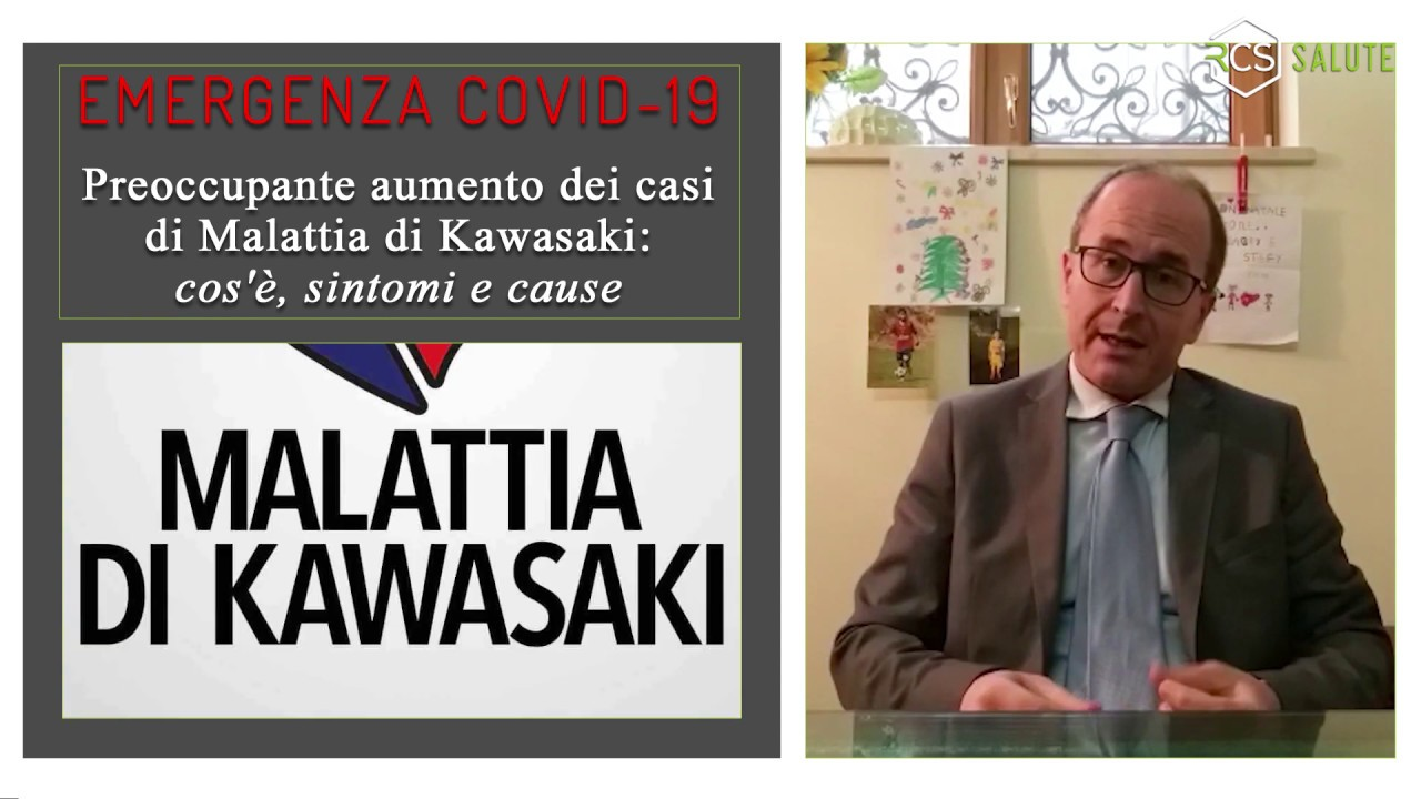 Malattia di Kawasaki: con il pediatra Bernardino Rea