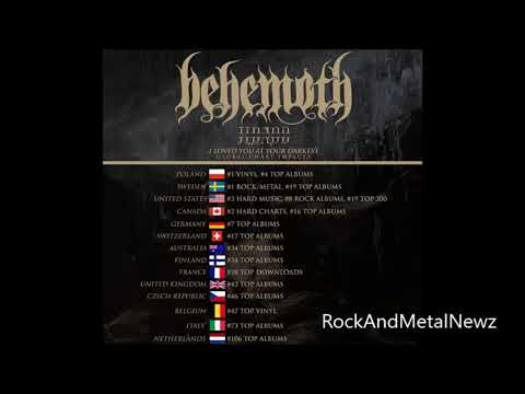 Behemoth hits international charts with 'I Loved You at Your Darkest' + tour and new drink..!