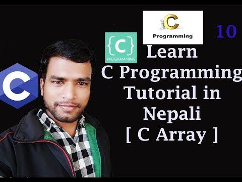 array-c-programming-tutorial-10-in-nepali