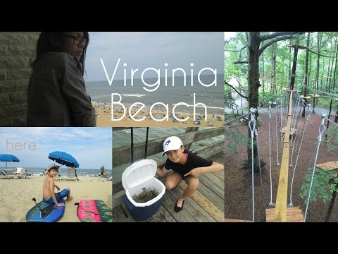 Virginia Beach Adventure - (Crabbing + Zip lining ! )