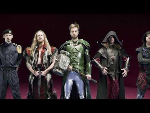 GLORYHAMMER - Legends From Beyond The Galactic Terrorvortex (Trailer)   Napalm Records