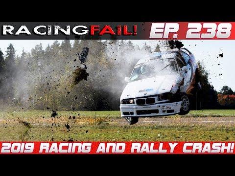 Matt Leonard -  Racing and Rally Crash Compilation 2019