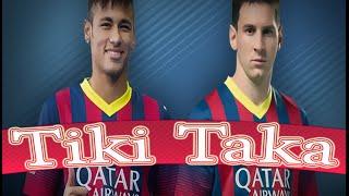 Lionel Messi & Neymar ●Tiki Taka ●  Skills Show 2014-2015 -HD