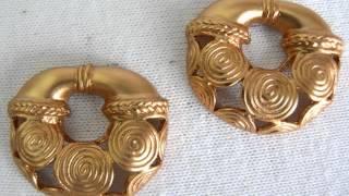 ARETES-Precolombinos La Guaca