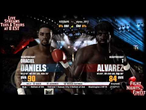 Fight Night Champion Live Stream - Playing Online World Championship