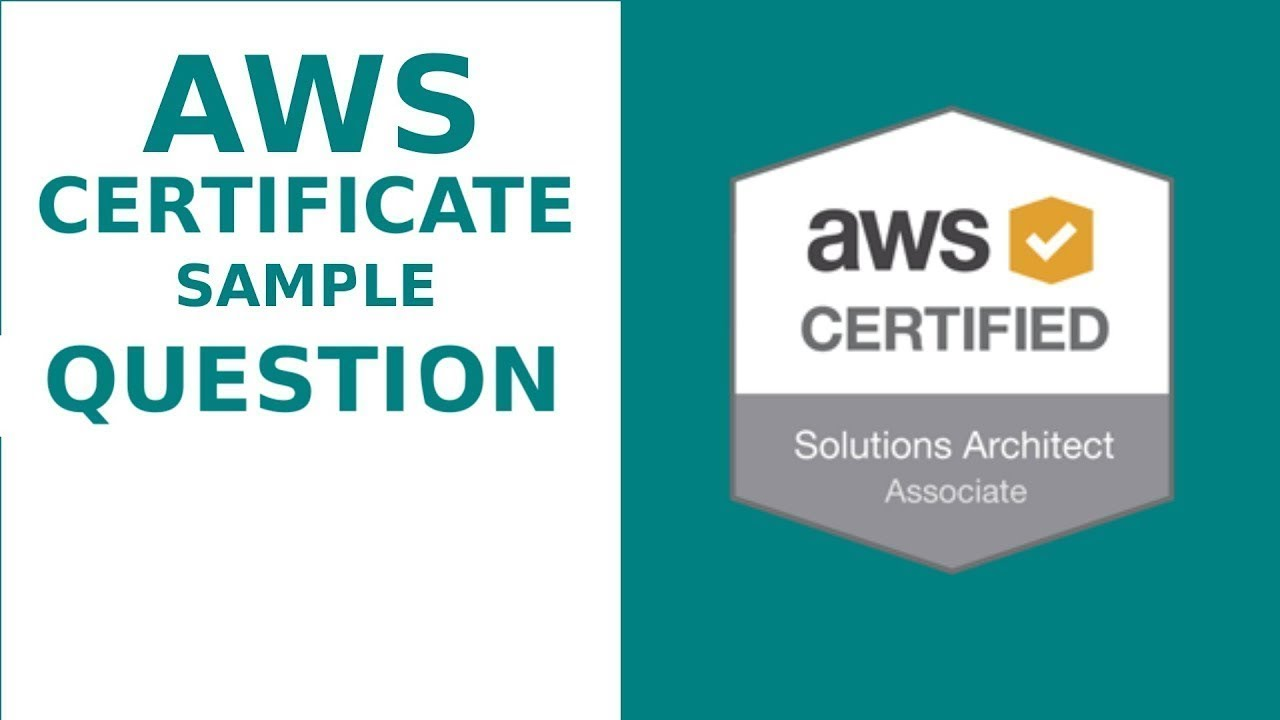 6 Aws Solution Architect Certification 2018 Aws Solutions
