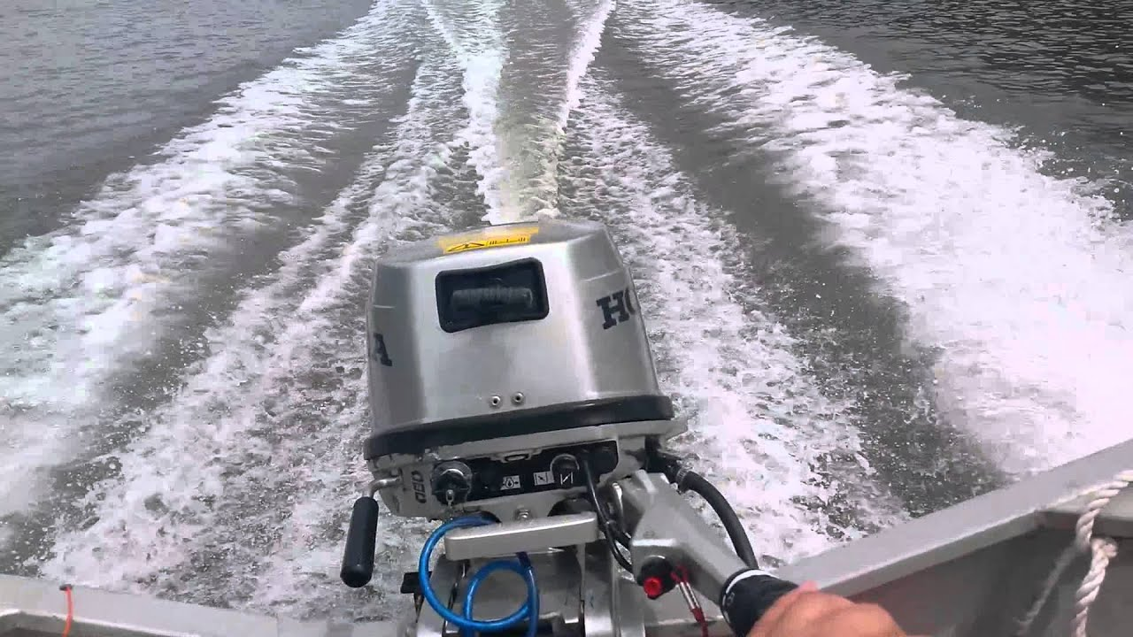 Honda 8hp Shortshaft Outboard Motor Youtube
