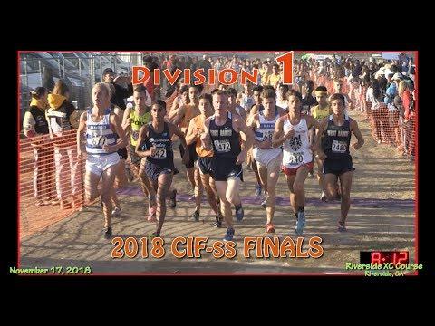 2018 XC - CIF-ss FINALS - 01 (Division 1 Boys)