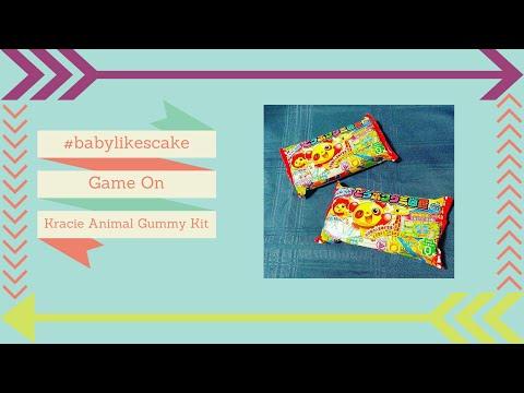 Baby Likes Cake - Episode 37 - Kracie Marine Gummy Kits