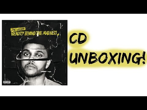 The Weeknd Beauty Behind the Madness album Unboxing