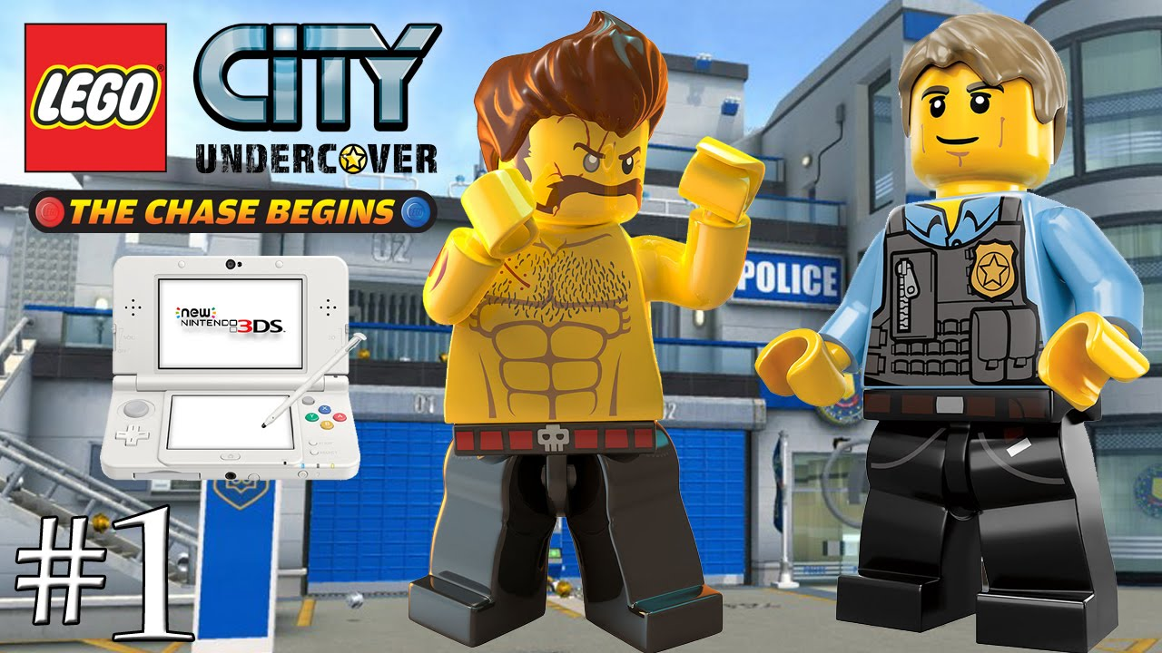 lego city undercover the chase begins fr 1 - Dessin Anim Lego City