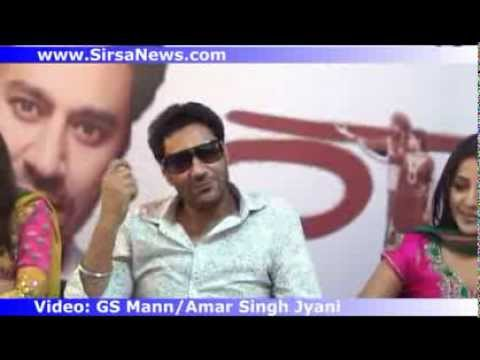 Harbhajan Mann Sonia Mann Babu Singh Mann Mehreen and Team on Promo of Haani Part1