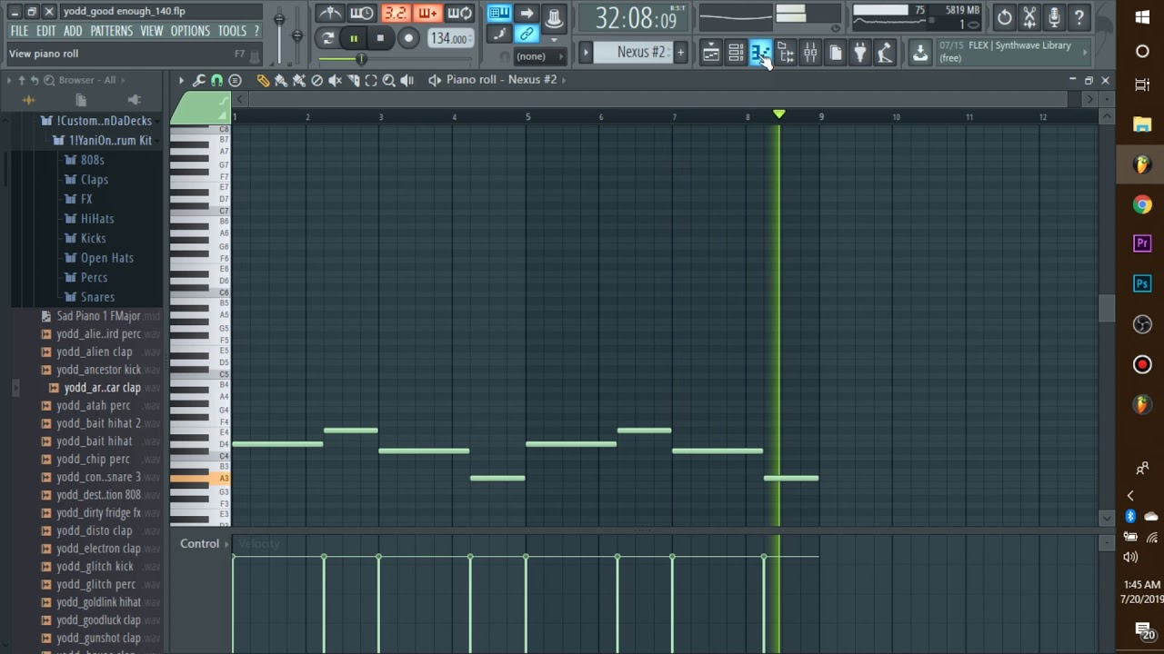 How To MAKE Chill Indie Pop,RnB Beats (Chris Brown Indigo, Billie  Eillish,Drake) Beat Breakdown