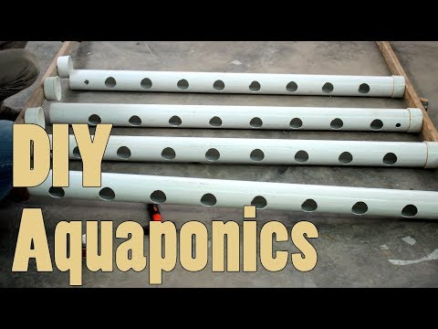 How To Make Homemade PVC Aquaponics System Very Easily and Cheap