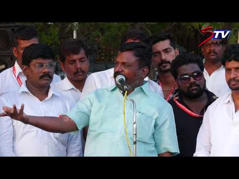 thol thirumavalavan speech on  asefa issue and Cauvery Management Board |STV
