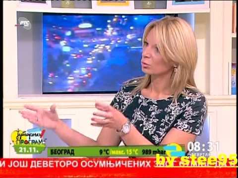 Jelena Ristic buduca Djokovic kod  Sladjane Tomasevic u bgd hronici