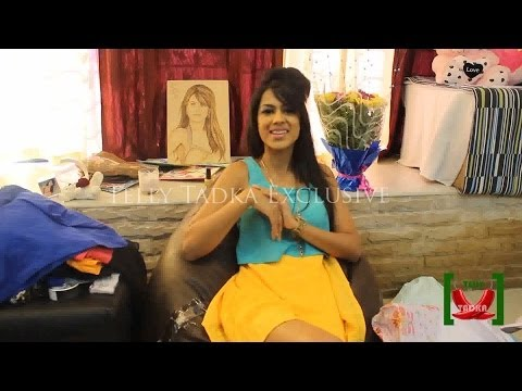 Nia Sharma receives fans gifts & speaks about Sexylist 2013
