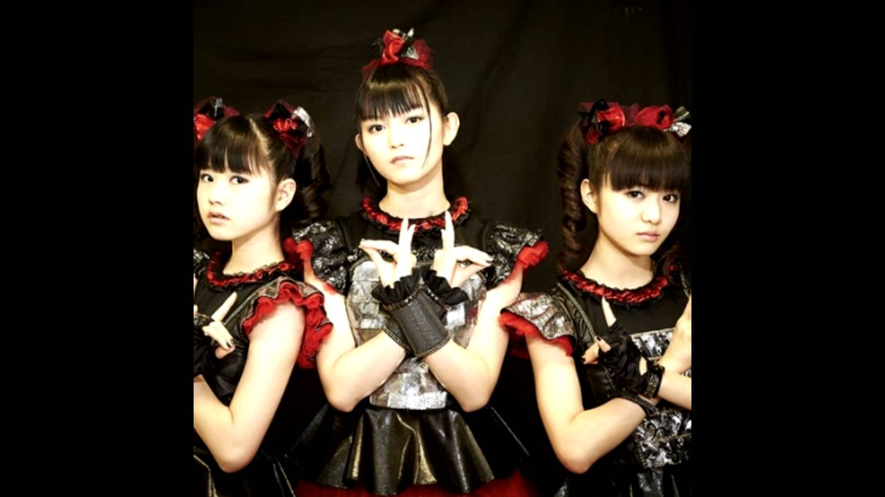 Babymetal gimme chocolate lyrics 1 - YouTube