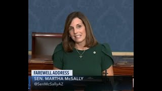 Sen. Martha McSally delivers farewell speech on U.S Senate floor