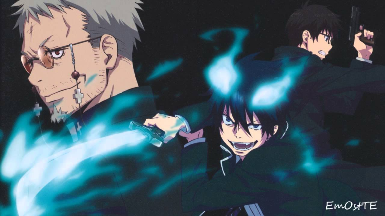 epic blue exorcist wallpaper - photo #3