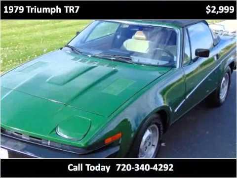 1979 triumph tr7 used cars longmont co youtube for Victory motors trucks longmont