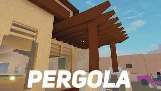 Building A Pergola! Roblox Lumber Tycoon 2