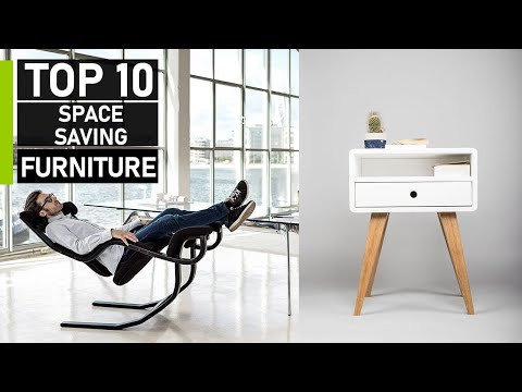 Top 10 Smart Space Saving Furniture For Your Home