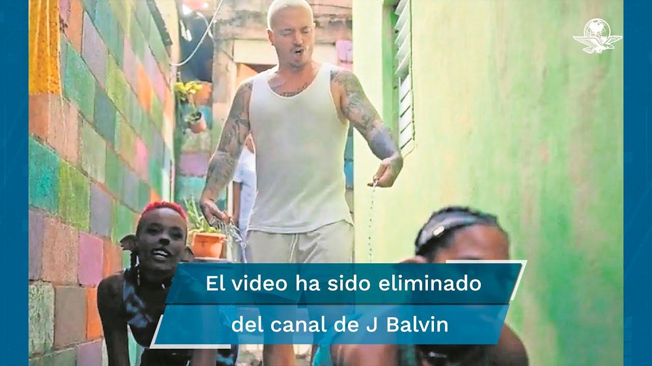 J Balvin se disculpa por el video Perra