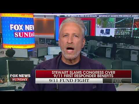 Jon Stewart: McConnell has 'never' dealt with 9/11 responders issue compassionately