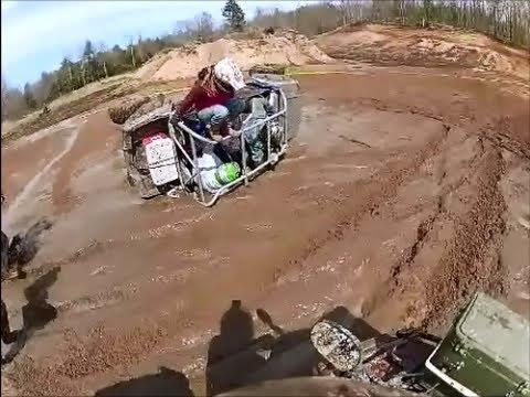 Polaris ATV Crashes And Rolls Five Times! - Ouch Video ... |Polaris Rzr Crash