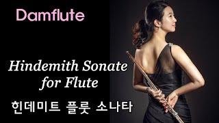 담플루트-힌데미트 소나타 (Hindemith flute…