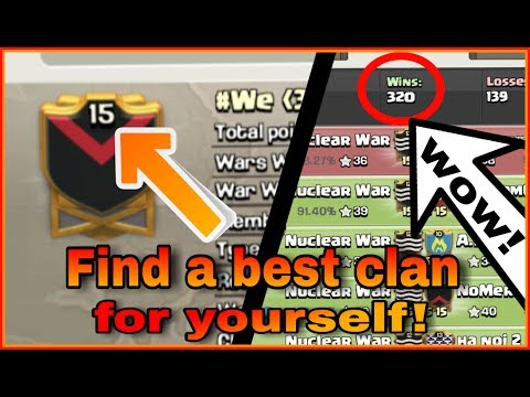 How To FIND A BEST CLAN To Settle PERMANENTLY | Clash Of Clans SECRET!