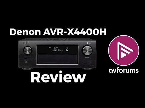 Denon AVR-X4400H 9.2 Channel AV Receiver Review
