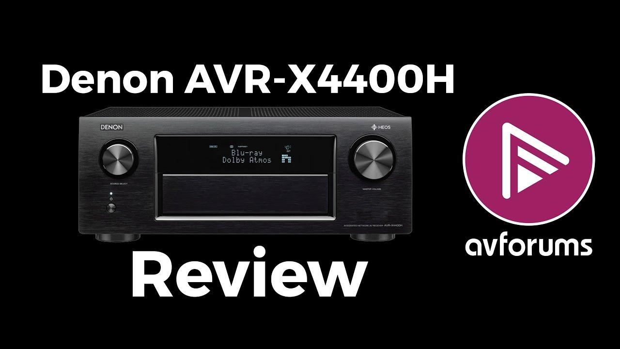Denon AVR-X4400H 9 2 Channel Dolby Atmos DTS:X Auro-3D AV