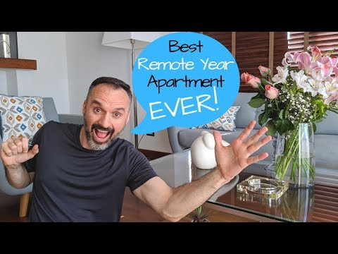 MY NEW HOME In Lima Peru! // Miraflores Apartment Tour // Remote Year