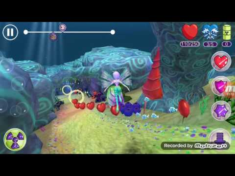 Winx Club Sirenix power gameplay. Pillar of Control beat tritanis (TECNA)